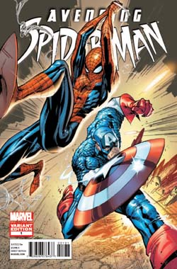 Avenging Spider-Man #1 J. Scott Campbell Variant