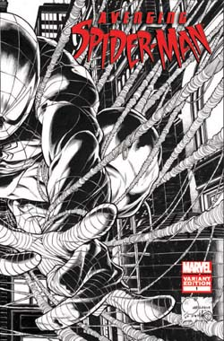 Avenging Spider-Man #1 Quesada Sketch Variant
